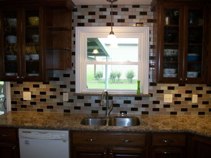 Glass Tile Backsplash N Koehn Tile El Campo Tx