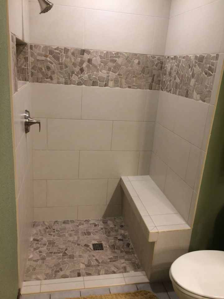 Bathroom Ideas With Grey Floor